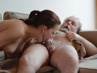 Ilona and her man are sharing a good..
